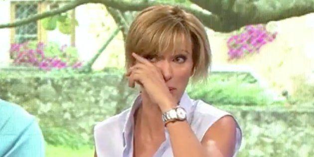 Susanna Griso rompe a llorar en pleno directo en 'Espejo Público' hablando de Celia
