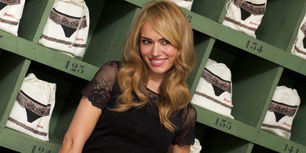 Patricia Conde arrasa con esta foto en ropa interior para Ángel