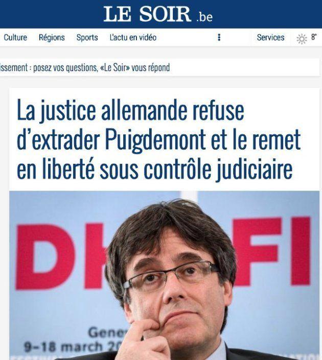 La prensa internacional se hace eco de la libertad de Carles