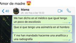 La conversación de WhatsApp madre e hijo que triunfa por su gran