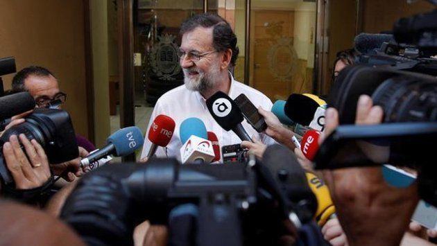 Rajoy, el día que se reincorporó al Registro de Santa