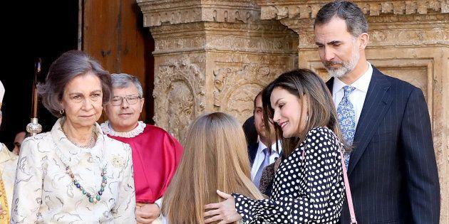 Han reconstruido el rifirrafe entre la reina Letizia y Doña Sofía con clicks de Playmobil y el resultado...