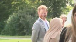 Su cara cuando ve que las cámaras le han 'cazado' en un momento de
