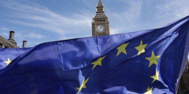 Manifestación por la permanencia de Reino Unido en la UE en