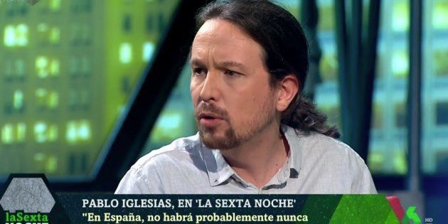 Pablo Iglesias explica cómo han elegido Irene Montero y él los apellidos de sus