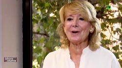 Esperanza Aguirre reaparece en La Sexta para lanzarle esta 'pulla' a