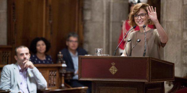 La actriz, directora y activista feminista Leticia Dolera, da el pregón de las fiestas de le Mercé de