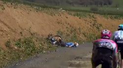 El ciclista belga Michael Goolaerts sufre un paro cardiaco en plena