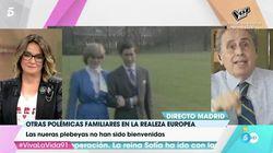 La reprimenda de Toñi Moreno a Jaime Peñafiel por este comentario en 'Viva la