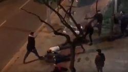 Tres heridos graves en una pelea multitudinaria en
