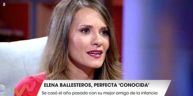 Elena Ballesteros se emociona en 'Viva la Vida' al contar su historia de