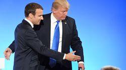 Trump anuncia ante Macron que