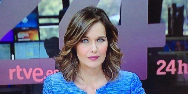 El emotivo mensaje de Raquel Martínez a su compañera tras su regreso al 'Canal 24Horas' de
