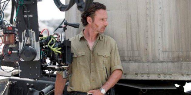 'The Walking Dead' paraliza su rodaje por el grave accidente de un