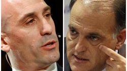 Rifirrafe en Twitter entre Luis Rubiales y Javier Tebas por los horarios de la