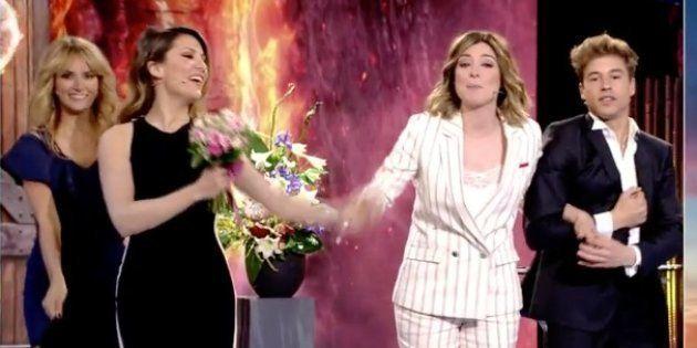 El momentazo ramo de novia de Sandra Barneda y Nagore
