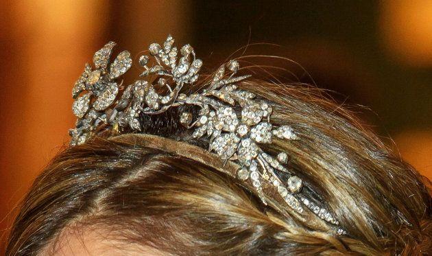 La tiara Flor de