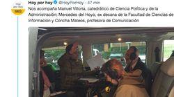 La Universidad Rey Juan Carlos no permite a Pepa Bueno emitir y hace el programa en una