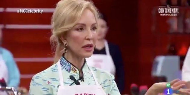 Mofas a costa de Carmen Lomana tras decir en 'MasterChef' que es vegetariana de