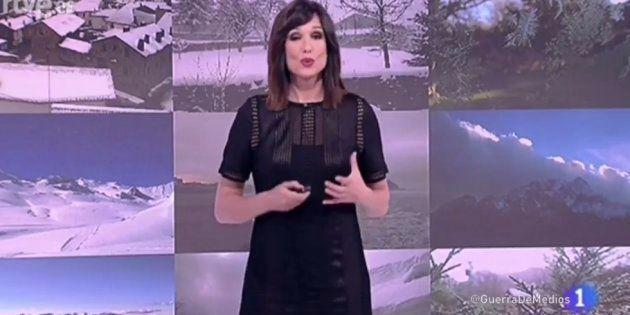 El bonito homenaje de Mónica López, de 'El tiempo de TVE', a un espectador