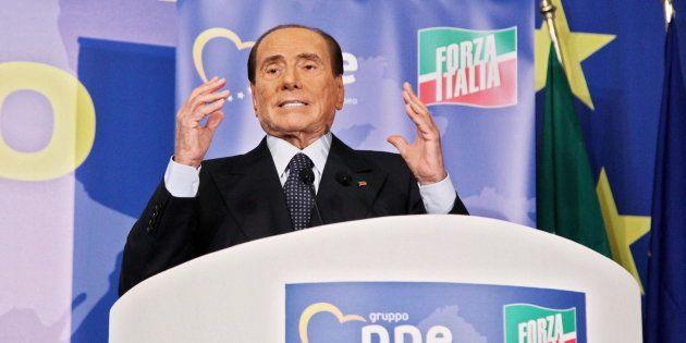 El ex primer ministro Silvio Berlusconi, el pasado