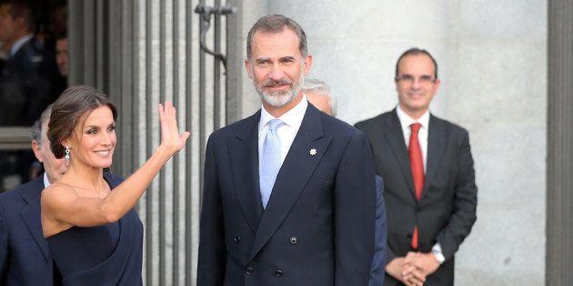 Los reyes Letizia y Felipe