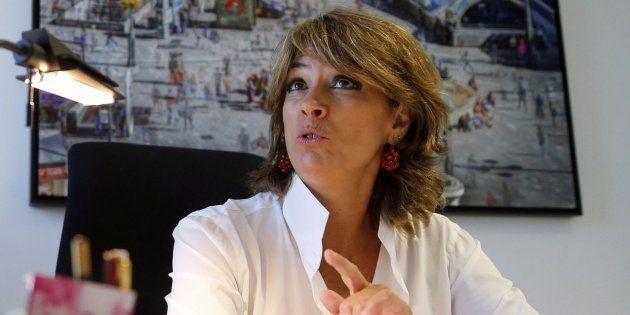 La ministra de Justicia, Dolores Delgado, en una imagen de