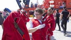 Una patera con 26 mujeres y cinco menores llega a la isla de Mar, de soberanía
