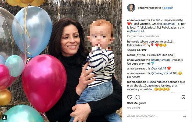 La actriz Ana Álvarez, de 48 años, sorprende al mostrar que es