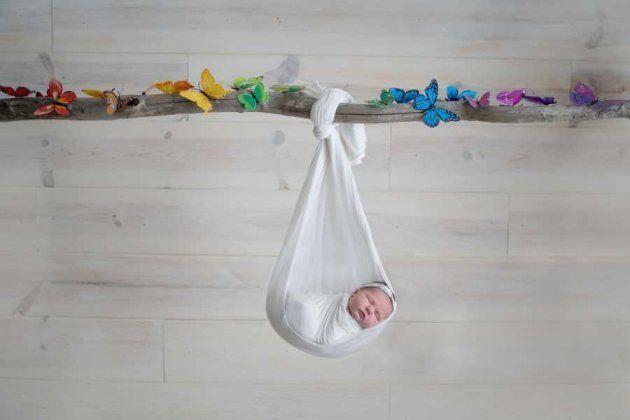 Después de dos abortos, esta fotógrafa homenajea a