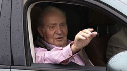 La broma del rey Juan Carlos al salir del hospital:
