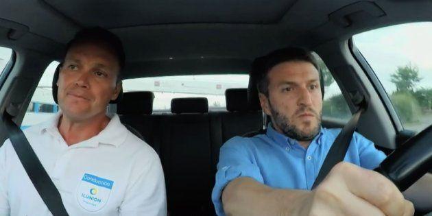 Aimar Bretos comprueba lo que pasa por conducir borracho: