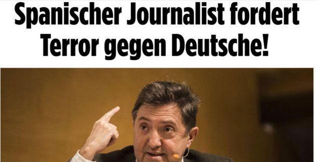 El diario más leído de Alemania carga contra Federico Jiménez Losantos por