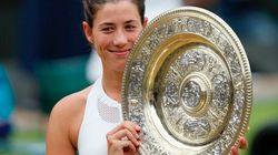Muguruza gana el torneo de Wimbledon al imponerse a Venus Williams (7-5,
