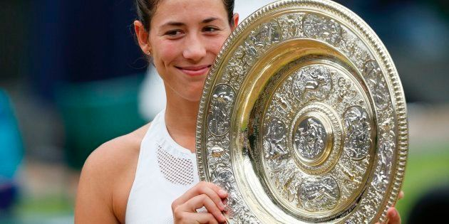Garbiñe Muguruza gana el torneo de Wimbledon al imponerse a Venus Williams (7-5,