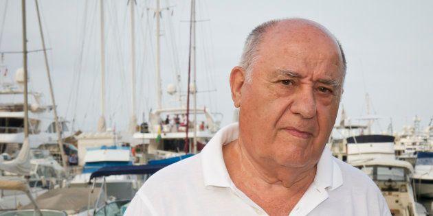 Amancio Ortega en 2012 en