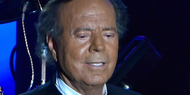 Julio Iglesias on concert in Monaco on