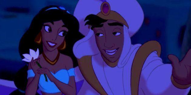 Estos son los actores que interpretarán a Aladdin y Jasmin en la película de acción real de