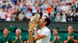 Roger Federer logra su octavo título de