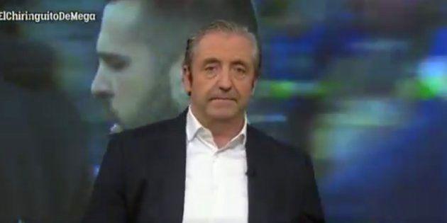 Josep Pedrerol, durísimo en 'El Chiringuito de Jugones':