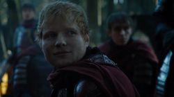 El esperado cameo de Ed Sheeran en 'Juego de Tronos' divide a los fans de la