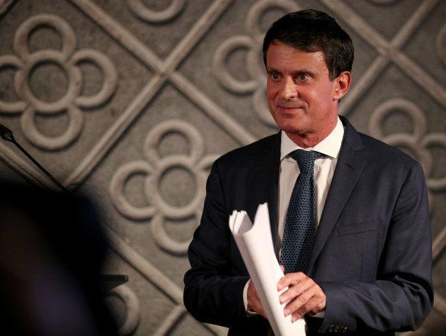 El exprimer ministro francés Manuel Valls durante la