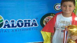 Un niño toledano de 8 años gana el Mundial de Cálculo