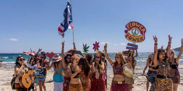 'Hippies' en