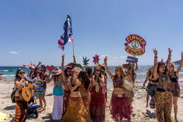 Avistamiento 'hippie' en