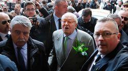El líder histórico de la extrema derecha francesa Jean-Marie Le Pen,