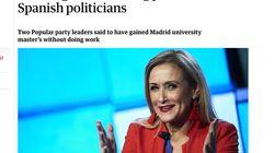 La polémica del máster de Cifuentes llega al periódico británico 'The