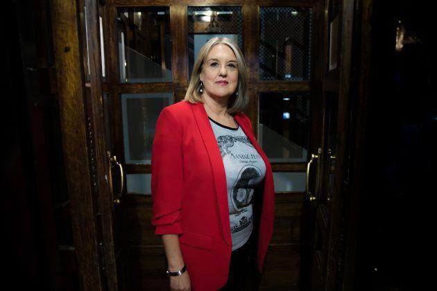 Neus Roig, autora de 'No llores que vas a ser feliz', retratada en