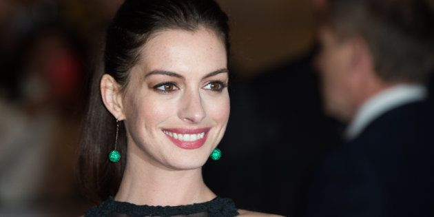 La genial respuesta de Anne Hathaway al halago de un