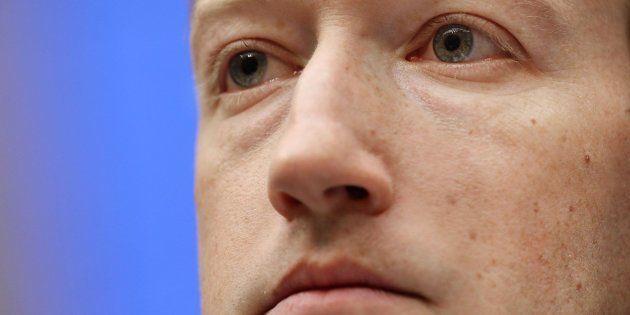 Zuckerberg durante su comparecencia ante el Congreso este